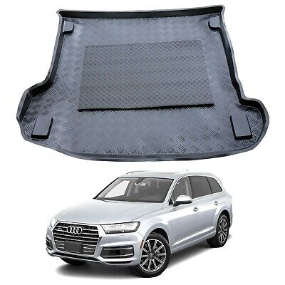 TAILORED PVC BOOT LINER MAT for Audi Q7 I 2005-2015 5-seats