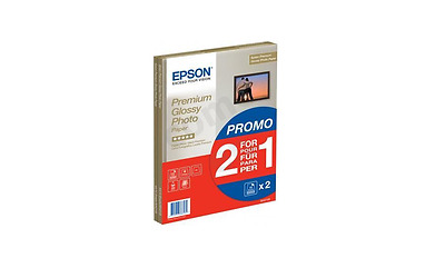 Epson (A4) Premium Glossy Photo Paper (2 x 15 Sheet Pack) S042169