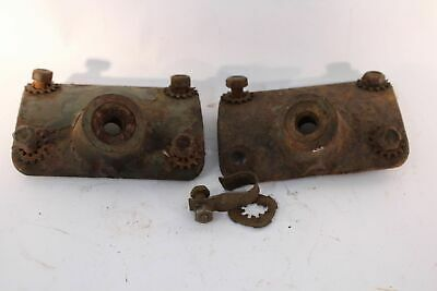 Dodge Wc Models Pivot Bracket Right & Left Set Used Good Condition Rare To Find