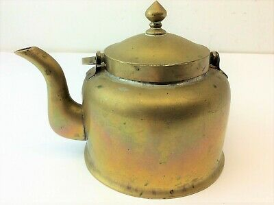 Antique Old Brass Metal China High Quality Chinese Teapot Tea Pot Decorative