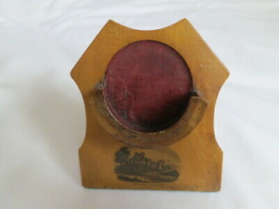 Mauchlineware - pocket watch stand/holder - DOVER