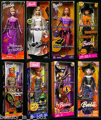 Boo-tiful Barbie Doll Halloween Princess Fortune Teller Glow Trick or Chic Hip P