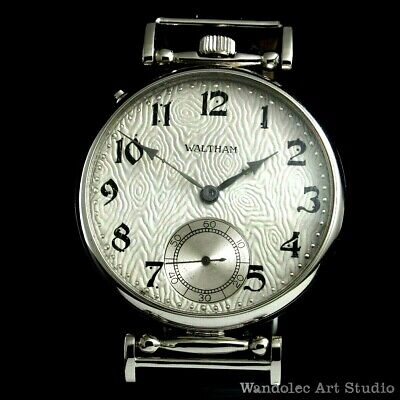 Vintage Mens Wrist Watch WALTHAM RIVERSIDE Mechanical American Men's Wristwatch