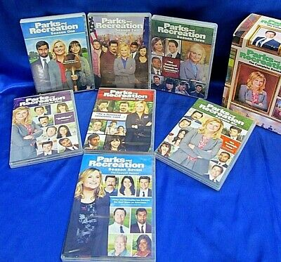Parks and Recreation: The Complete Series (DVD, 2015, 20-Disc Set)