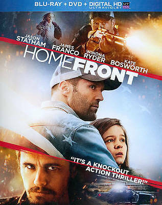 Homefront (Two-Disc Combo Pack: Blu-ray + DVD + Digital HD + UltraViolet) NEW