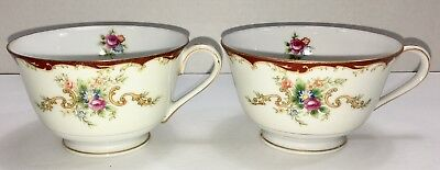 """Vintage HARMONY HOUSE WEMBLEY 2 1/4"""" Coffee Cup Only ~ Lot of 2 ~ Retired"""
