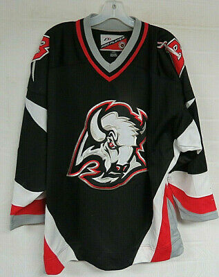 wholesale dealer 24713 0c73c VTG BUFFALO SABRES Jersey Red XL Starter Retro Throwback 90s ...