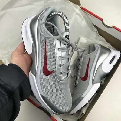 buy popular cb871 50fff Nike Air Max Jewell QS Women s Trainers Silver UK 4.5