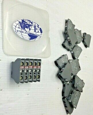 Bulk Abb Ca5-10 A600 Q300 Front Face Auxiliary Contact Block Lot Of 20