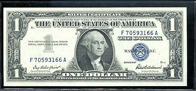 Series of 1957 United States Silver Certificate $1 Note ME871