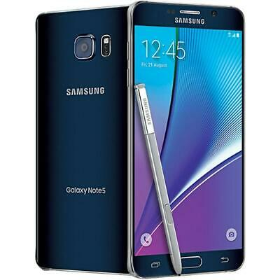 Samsung Galaxy Note 5 - 32GB - Black (Factory GSM Unlocked; AT&T / T-Mobile)