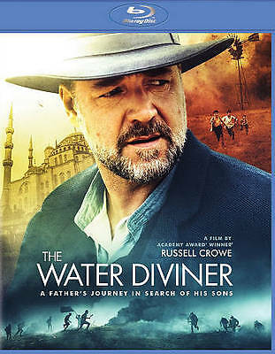 The Water Diviner (Blu-ray) NEW Factory Sealed, Free Shipping