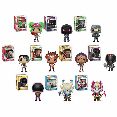 Funko POP! Games - Fortnite S2 Vinyl Figures - SET OF 10 (Valor, Zoey, Raven +)