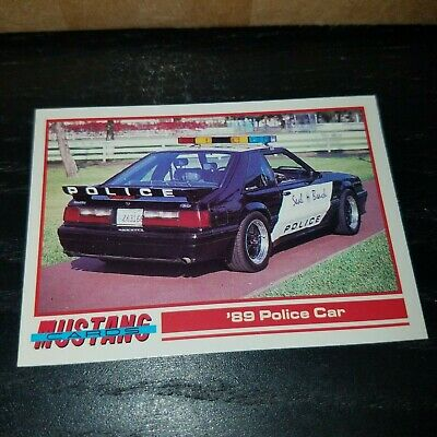 1989 Ford Mustang Saleen Ssc Collectible Trading Card Mint Archives Statelegals Staradvertiser Com