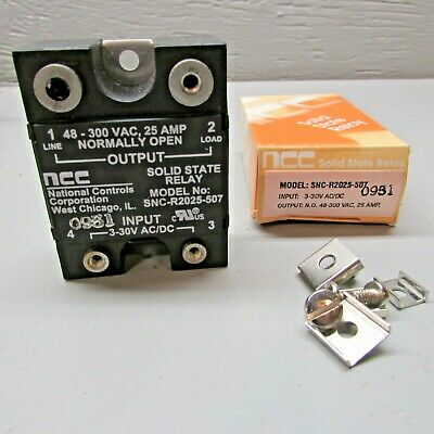 ONE NEW NCC SOLID STATE RELAY SNC-R2025-507.