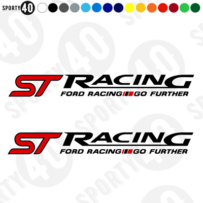 Ford ST Racing - Vinyl Decal / Sticker - Ford Focus Fiesta ST - 4675-0119