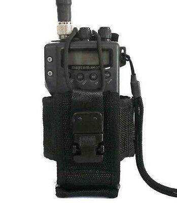 Nylon Radio Pouch Case Holster For Rescue Ham Military Security Guard