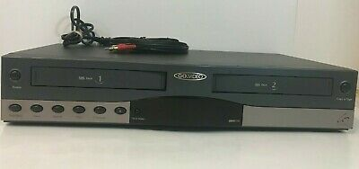 Go Video DDV9150 Dual Deck VHS VCR Recorder