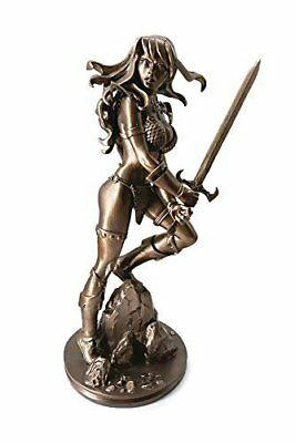 Dynamite Red Sonja by Amanda Conner Bronze Artist Proof Statue