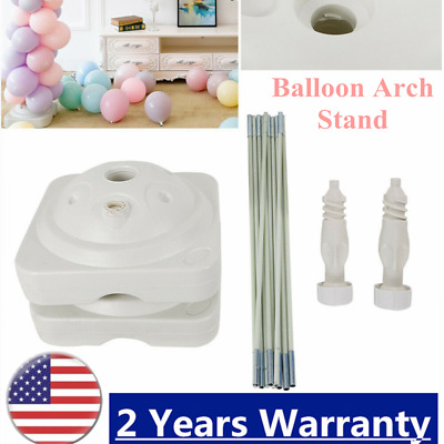 Large Balloon Arch Column Stand Frame Kit for Birthday Wedding Party Decore NEW