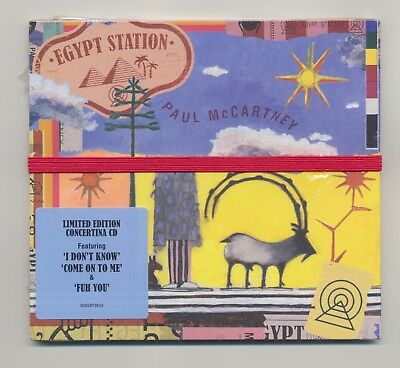 PAUL McCARTNEY - EGYPT STATION LIMITED EDITION CONCERTINA CD NEW MINT 2018
