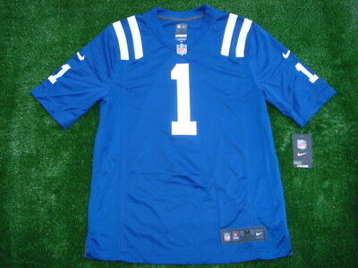 01328ed5d New NIKE Indianapolis Colts Pat McAfee BLUE Jersey HOF Super RARE SIZE M   100