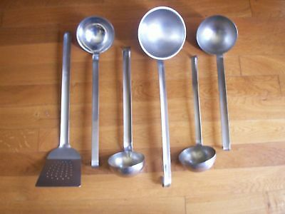 Lot Inox Louches - Spatule - Materiel Professionnel - Restaurant Collectivite A3