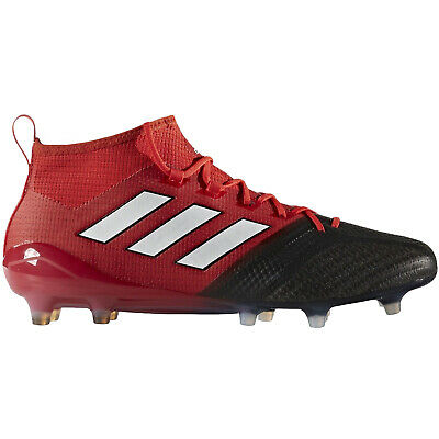 adidas Performance Mens Ace 17.1 Primeknit Firm Ground Football Boots - Red