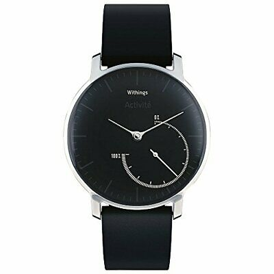 Withings Activité Steel - Activity&Sleep Tracking Watch Mineral Glass and Stainl