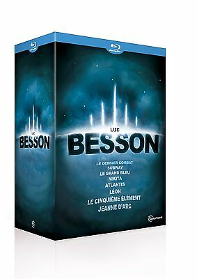 Coffret blu-ray 8 films Luc Besson, neuf, sous blister