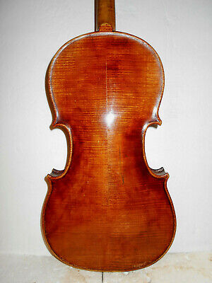 "Vintage Antique Old ""John Juzek"" 2 Pc. Back Violin - No Reserve"