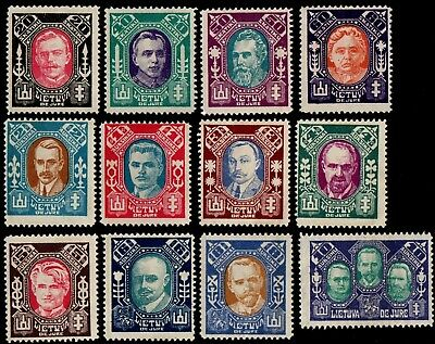 Lithuania. 1922 Recognition of Lithuania by League of Nations. MNH
