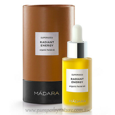 Madara Superseed Radiant Energy Organic Certified Facial Oil 30ml