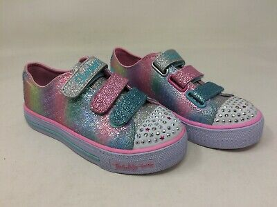 New! Girl's Youth Skechers Twinkle Toes: Ms.Mermaid 10912 size 2 A22