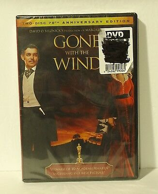 Gone With the Wind (DVD, 2-Disc, 70th Anniversary Edition) Canadian w french