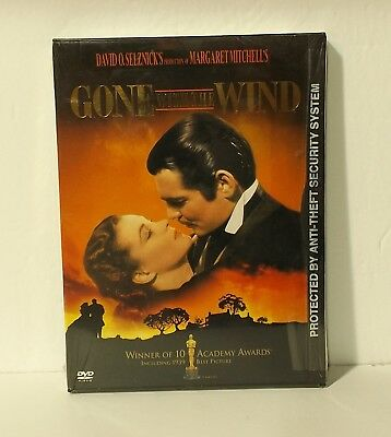 Gone With the Wind (DVD, 2000) snapcase NEW AUTHENTIC REGION 1
