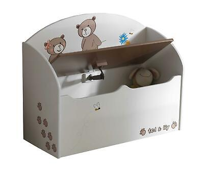 Demeyere Coffre A Jouets Ted Et Lily 234549