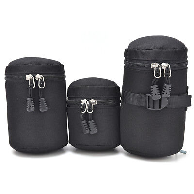 Thick Protective Waterproof Pouch Bag Travel Case Covers For DSLR Camera Lens Xj