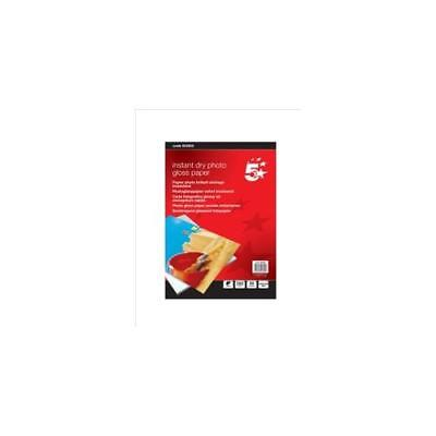 S309 [50 Sheets] 5 Star Paper Inkjet Photo Gloss Fast Drying 260gsm 100x150mm