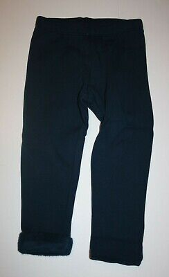 New Gymboree Girls Navy Blue Fleece Leggings 4 year NWT Super Soft Full Length