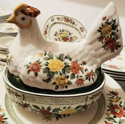 VILLEROY & BOCH   Summer Day Poulet Terrine RARE !!!
