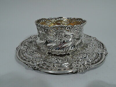 Tiffany Bowl Plate - 11330 11326 - Chicago World's Fair Stamp - Sterling Silver