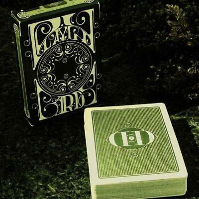 Smoke & Mirrors (GREEN/v4) Playing Cards by Dan and Dave