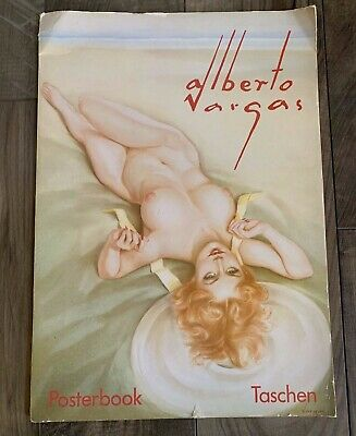 ALBERTO VARGAS POSTER BOOK WITH 6 DIFFERENT PRINT/POSTERS Taschen