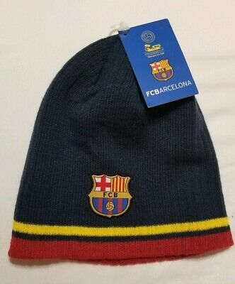 a9303068129 Nwt Fc Barcelona Beanie Official Winter Skull Cap Hat Authentic Messi
