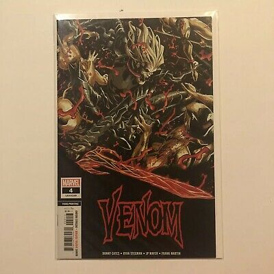 Venom #4 2018 3Rd Print Knull God Of The Symbiotes Cates Stegman