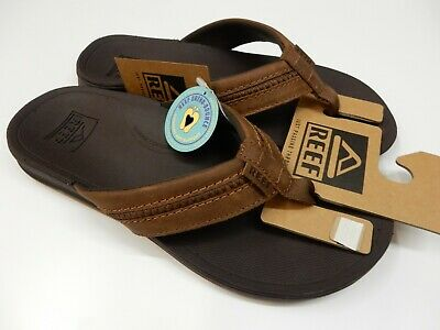 970a109db812 NEW - MEN S Reef Leather Fanning Sandals - Style 2156 - Brown Or Tan ...