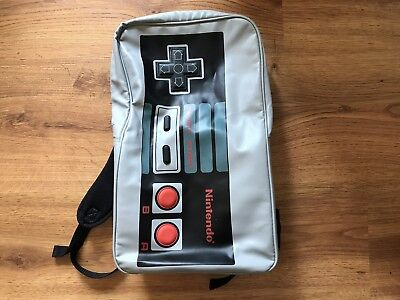 498550caef1a Super Nintendo Snes Controller Backpack Bookbag Satchel Laptop Bag  Briefcase Nwt.  69.95 Buy It Now 7d 14h. See Details. Classic NES Nintendo  Controller ...