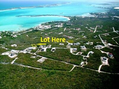 Exuma Bahamas - Building Lot w/Services- Walk to Ocean Beach-Owner Financing !