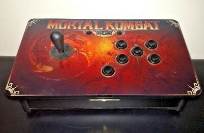 MORTAL KOMBAT TOURNAMENT EDITION ARCADE FIGHT STICK Playstation 3 PS3 PS4  Tested